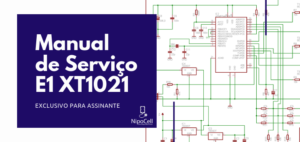Esquema Elétrico Manual de serviço Celular Moto E1 XT1021